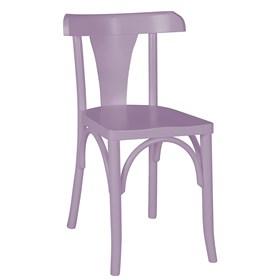 Cadeira Modri em Madeira Maciça - Lilás