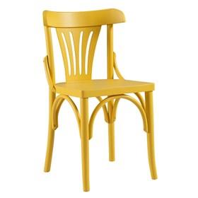 Cadeira Norwich em Madeira Maciça Curvada - Linha Luthemberg