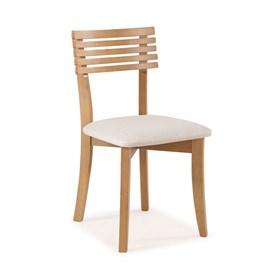 Cadeira Oberon Ripada em Madeira Maciça