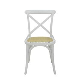Cadeira Odense em Madeira Maciça - Branco