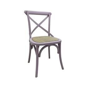 Cadeira Odense em Madeira Maciça - Malva