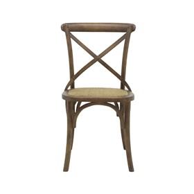 Cadeira Odense em Madeira Maciça - Marrom Escuro