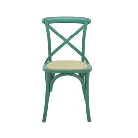 Cadeira Odense em Madeira Maciça - Verde