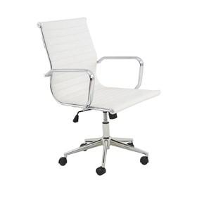 Cadeira Office Baixa Hamilton C/Base Cromada