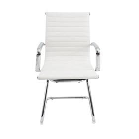 Cadeira Office Baixa Hamilton C/Base Fixa - Branco