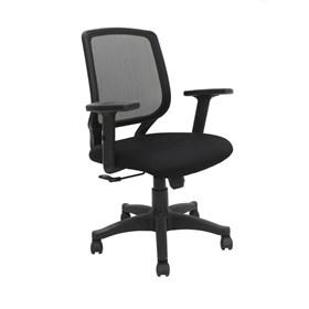 Cadeira Office Lingard C/Braços Ajustáveis em Polipropileno