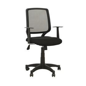 Cadeira Office Lingard em Polipropileno - Preto