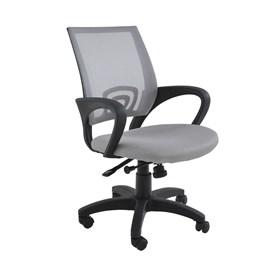 Cadeira Office Monumental C/Base Giratória - Cinza