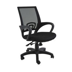 Cadeira Office Monumental C/Base Giratória - Preto