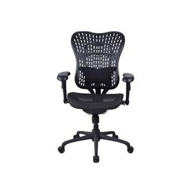 Cadeira Presidente Athlone em Mesh e Encosto Emborrachado