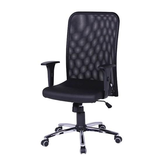Cadeira Presidente Cromada Giratória