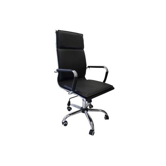 Cadeira Presidente Kinsale em Couro Ecológico