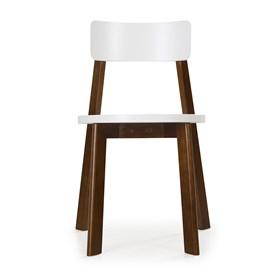 Cadeira Rupin em Madeira Maciça - Branco