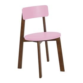 Cadeira Rupin em Madeira Maciça - Rosa Pétala