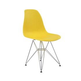 Cadeira S/Braço Paris em Polipropileno C/Base Cromada