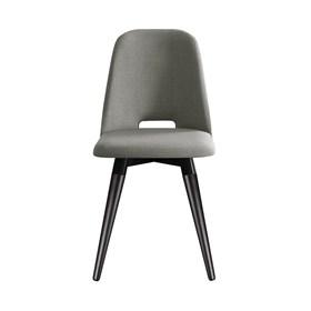 Cadeira Selina Preto Giratória em Linho - Linked 35