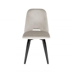 Cadeira Selina Ta Preto Giratória em Veludo - Inca 02