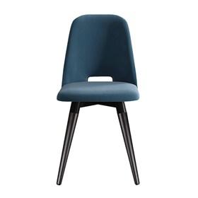 Cadeira Selina Ta Preto Giratória em Veludo - Inca 06