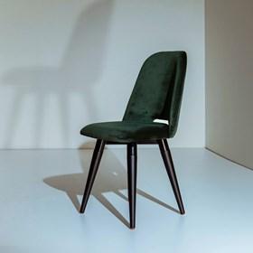 Cadeira Selina Ta Preto Giratória em Veludo - Inca 11