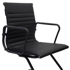 Cadeira Slope com Base Fixa em Aço
