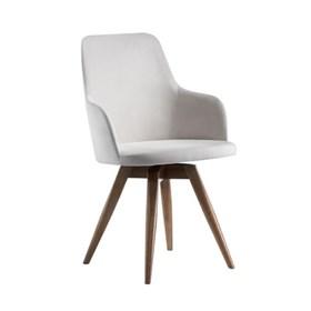 Cadeira Vandergeld C/Braços e Base Fixa