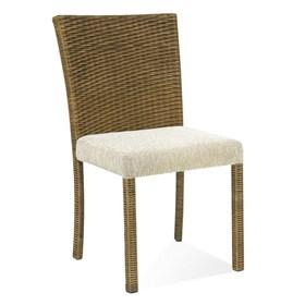 Cadeira Verona em Alumínio Revestida de Fibra Junco
