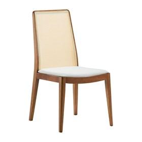 Cadeira Zaramont em Palha e Madeira Maciça - Natural