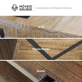 Caixa Acústica Montevidéu em Madeira Maciça