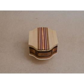 Caixa de Madeira Artesanal Feita em Marchetaria - Dalbergia Cochi