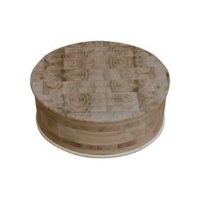 Caixa de Madeira Artesanal Feita em Marchetaria - Salix Nigra