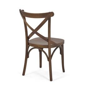 Conjunto de 2 Cadeiras Dimont em Madeira Maciça