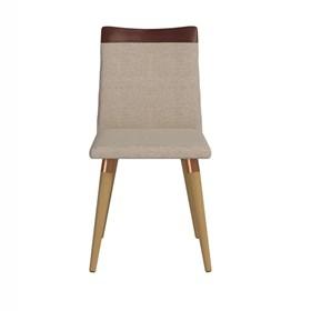 Conjunto de Mesa Julien 180cm Branca com 8 Cadeiras Becca Cinamomo