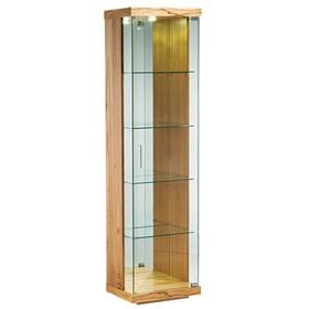 Cristaleira Beckinsale C/Vidro e Espelho 48cm