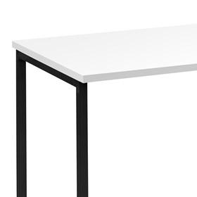 Escrivaninha Kristoff em Madeira Maciça - Branco/Preto