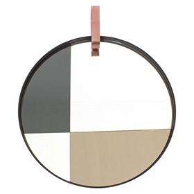 Espelho Covenant em Aço Carbono - 80cm