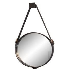 Espelho de Parede Celtics C/Cinto em Couro - Preto