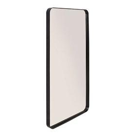 Espelho de Parede Retangular Cancún 80cm em Aço Carbono