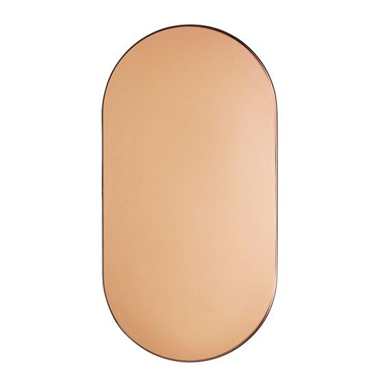 Espelho Girotto em Metal Preto