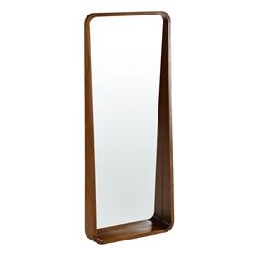 Espelho Hanói em Madeira Maciça - Freijó