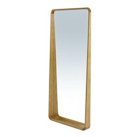 Espelho Hanói em Madeira Maciça - Natural