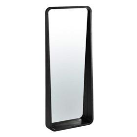 Espelho Hanói em Madeira Maciça - Preto Ébano