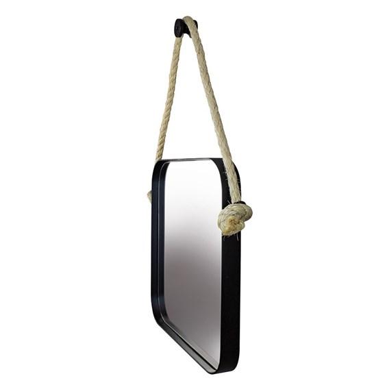 Espelho Quadrado Nohai 75cm em Aço Carbono Pintado