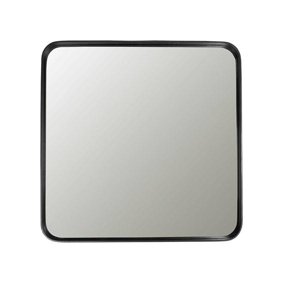 Espelho Winchester Quadrado em Moldura Preta