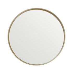 Espelho Winchester Redondo em Moldura Metalizada - Gold
