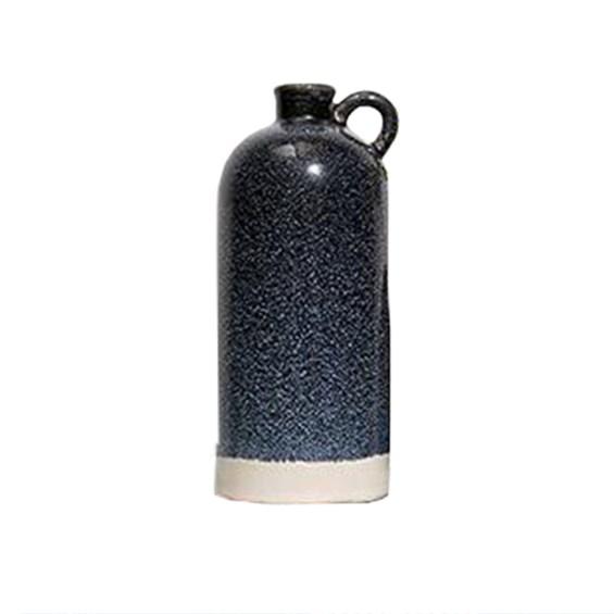 Garrafa Wiron em Cerâmica - Azul Escuro