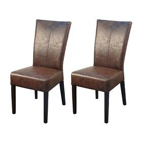 Kit 2 Cadeiras em Madeira Maciça Bella