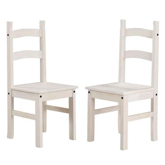 Kit 2 Cadeiras Wismar em Madeira Maciça - Linha Lith Wismar