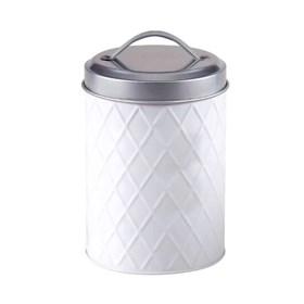 Lata Balogh em Metal - Branco