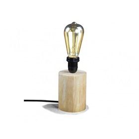 Luminária de Mesa Kitchen em Madeira Maciça