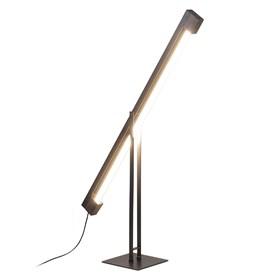 Luminária de Piso Lux em Madeira